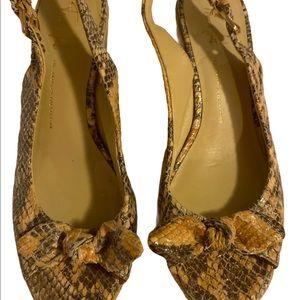 Open toed sling back espadrilles